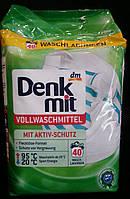 Стиральный порошок для белого белья Denkmit Vollwaschmittel (2.7 кг), фото 1