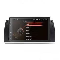 Штатная магнитола BMW 5 E39 x5 E53 Android 9.0