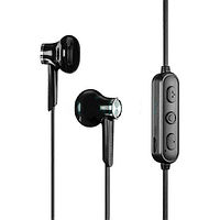 Беспроводные вставные Bluetooth наушники Yison E13 Wireless Magnetic Music Earphones Black