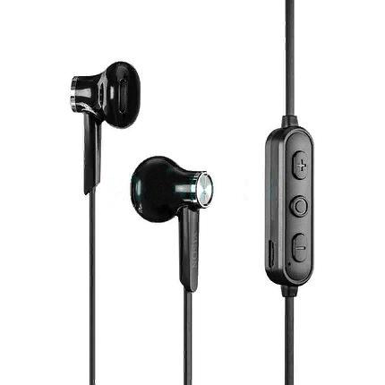 Беспроводные вставные Bluetooth наушники Yison E13 Wireless Magnetic Music Earphones Black, фото 2