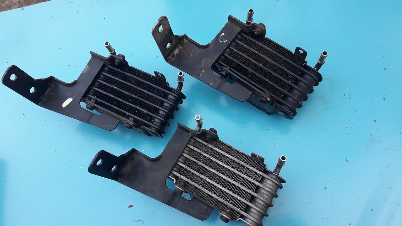 Радиатор топливный охлаждения топлива бмв е38 е39 е46 е53 м47 м57 BMW E38 E39 E46 E53 M57 M47 13322247411