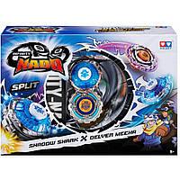 Волчок AULDEY Infinity Nado Shadow Shark и Delver Mecha с устр. запуска (YW624602)