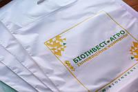 Полиэтиленовый пакет банан 58х48 с логотипом, фото 1