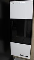 Шкаф Embawood Гармония подвесной Черно-белый