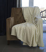 Плед покрывало (одеяло) флис 200х220 OBABY (ob-0001)
