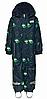 Зимний мембранный комбинезонLEGOWear(Дания) для мальчика 80, 86 см сдельный синий принт