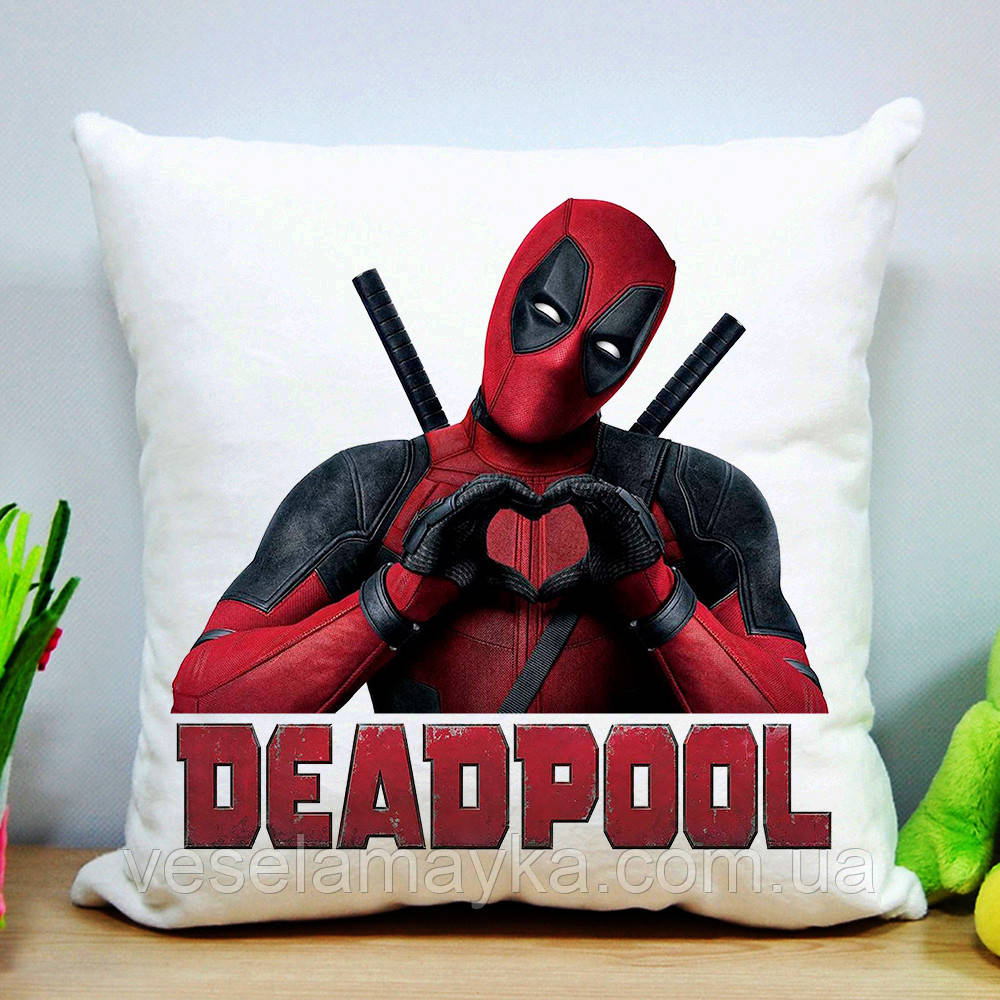 Подушка Deadpool