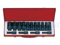 Набор ударных торцевых головок удлиненных KING TONY 1/2quot;DR 10-32 мм, 15 шт. (4415MP03)