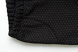 Лосини дитячі зимові на хутрі SmileTime White Dots Kitten, чорні, фото 4