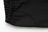 Лосины детские зимние, на меху SmileTime White Dots Kitten, черные, фото 4