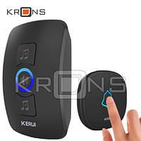 Беспроводной дверной звонок 433МГц 32 мелодии KERUI M525 с сигнализацией