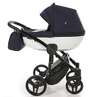 Детская коляска 2 в 1 Tako Junama Diamond 01 Темно-синяя 13-JD01, КОД: 287176