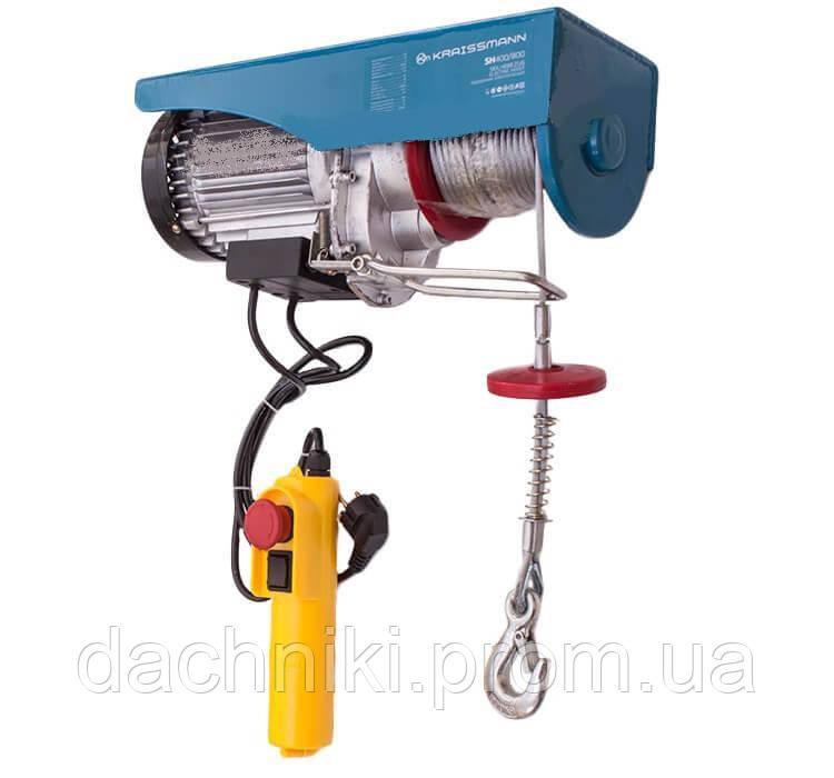 Подъемник электрический Kraissmann SH 300/600 (Лебедка,Тельфер)