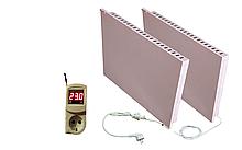Керамический био-конвектор УКРОП БИО-К 1500В (комплект: К750В +кабель 6м + К750В + терморегулятор)