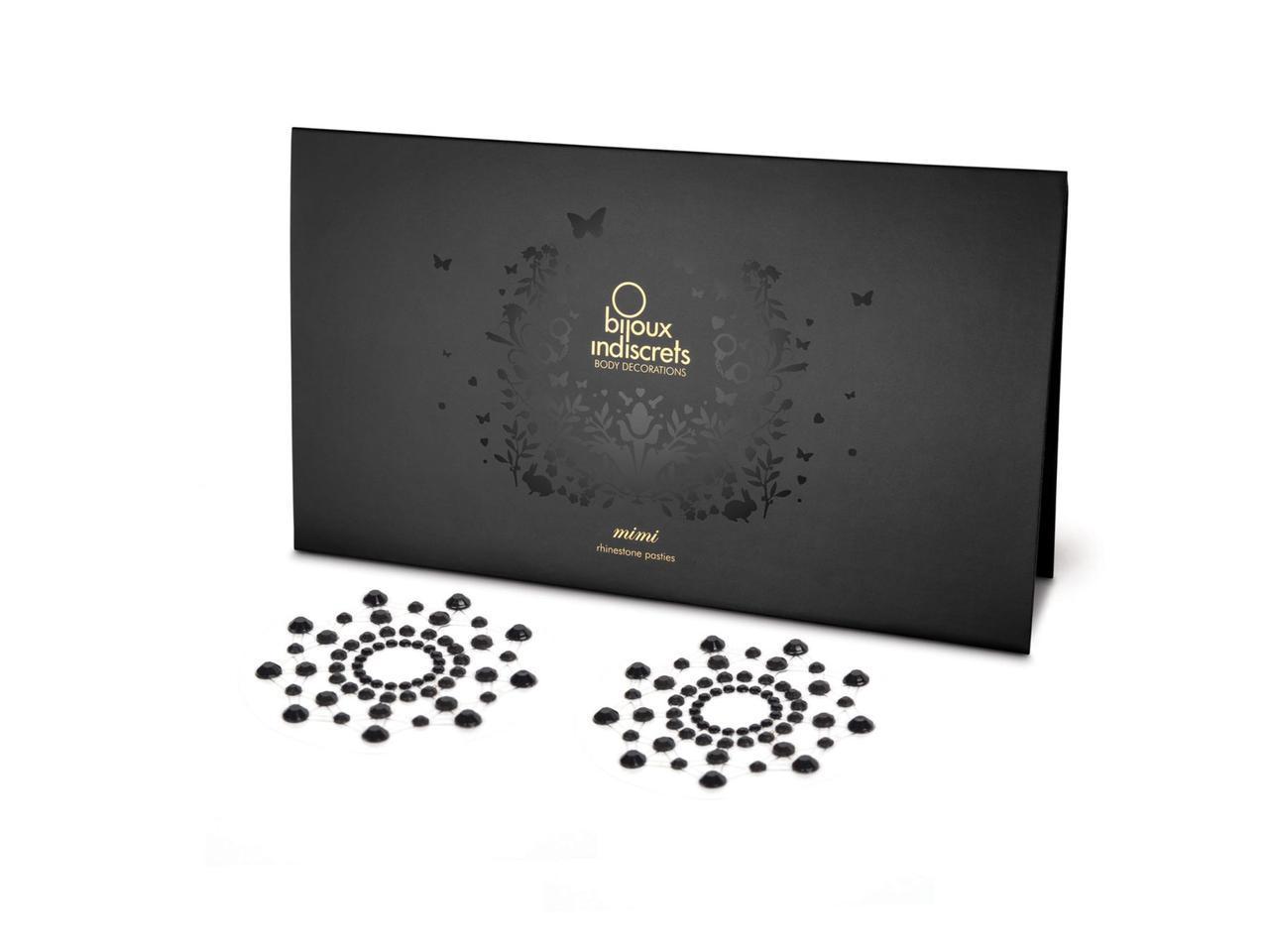 Пэстис украшение на соски Bijoux Indiscrets Mimi Black SO2320, КОД: 1230990