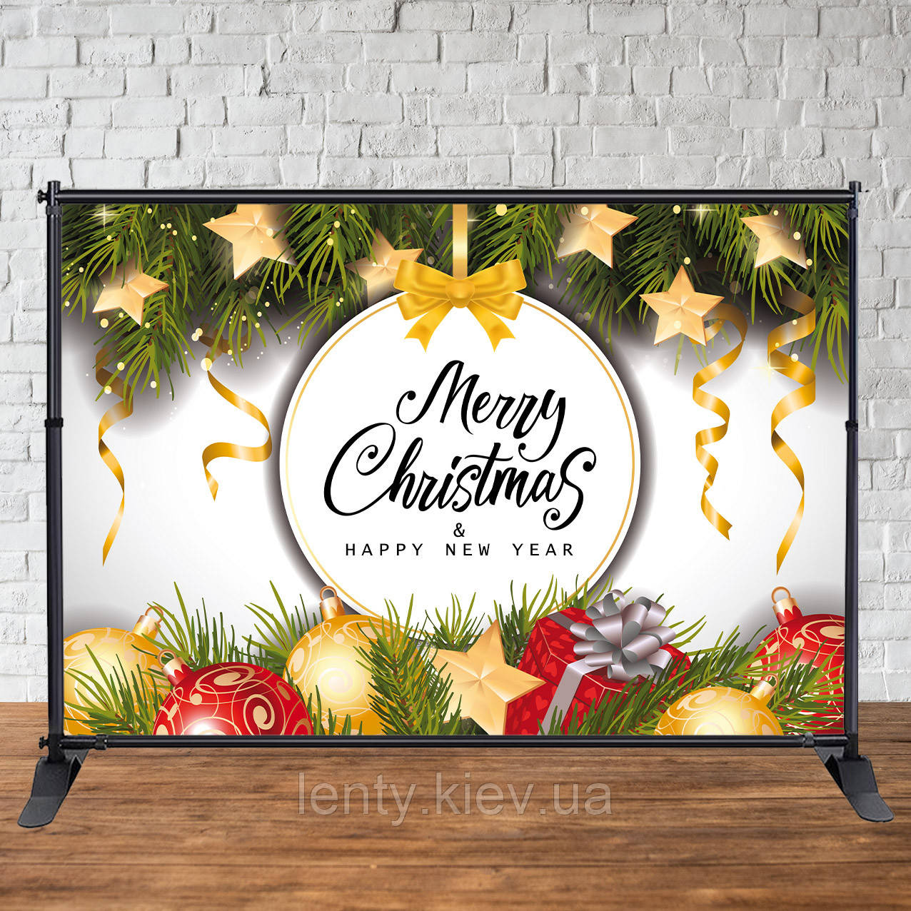 Баннер Новогодний (Merry Christmas 2х3 м): продажа, цена в ...