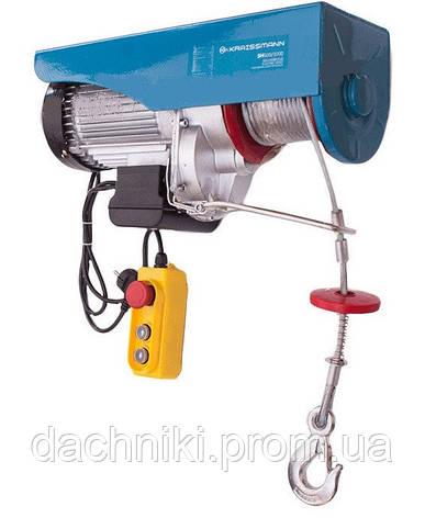 Подъемник электрический Kraissmann 400/800 (Лебедка,Тельфер), фото 2