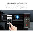 ФМ модулятор + сенсорное управление (Bluetooth / Громкая связь / 2хUSB / microSD / Вольтметр), фото 5