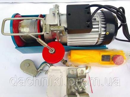 Подъемник электрический Kraissmann 500/1000 (Лебедка,Тельфер), фото 2