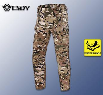 """🔥 Штаны Soft Shell утепленные """"Esdy. 05"""" (multikam) брюки тактические, карго, ВСУ, теплые"""