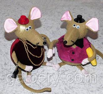 Текстильные мышки - символ 2020