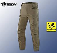 "🔥 Штаны Soft Shell ""Esdy. 05"" (олива) тактические, брюки нацгвардии"