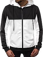 Кофта мужская с капюшоном JSTL XXL Белый LS9001R, КОД: 1079039
