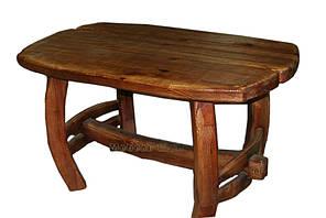 Деревянный стол под старину Сказка сосна брашированная