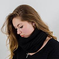 Стильный женский бафф / снуд / хомут (красный, фиолетовый, черный)