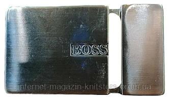 Пряжка для ремня BOSS * никель