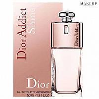 Женская туалетная вода Christian Dior Addict Shine edt 50 мл.   Лицензия Объединённые  Арабские Эмираты