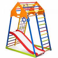 Детский спортивный комплекс KindWood Color Plus 1,Plus 2,Plus 3. SportBaby, фото 1