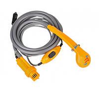 Портативный душ от прикуривателя авто UKC YD104 Orange 1114, КОД: 1124337