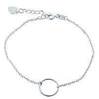 Серебряный браслет SilverBreeze без камней 17-20 см 1967034, КОД: 1195403