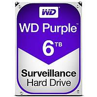 Жесткий диск Western Digital Purple 3.5 6TB WD60PURZ, КОД: 1247478