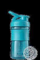Спортивная бутылка-шейкер BlenderBottle SportMixer 590 ml Teal, КОД: 1139136