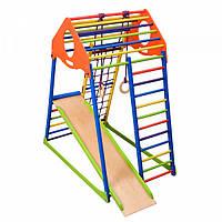 Детский спортивный комплекс для дома KindWood Color SportBaby