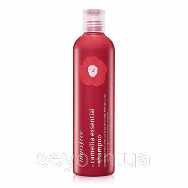 Шампунь для волос Innisfree Camellia Essential Shampoo, 300 мл