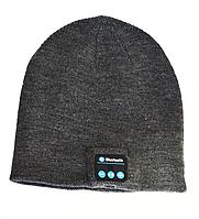 Шапка со встроенной Bluetooth гарнитурой Noisy Music HatСерая, КОД: 104341