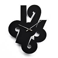 Деревянные настенные часы Moku Kenji 38 x 38 см 0107, КОД: 1074650