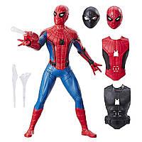 Большая игрушка Hasbro Человек-Паук с оружием 35 см - Spider-Man Web Gear, Deluxe
