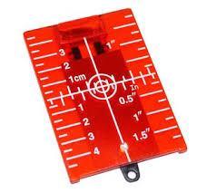 Мишень магнитная для красного лазерного нивелира