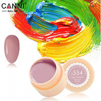 Гель краски и гель лак 2 в 1 Canni, №554