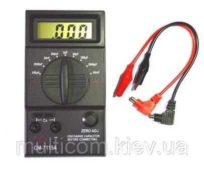 17-05-008. Измеритель емкости конденсаторов СМ7115А