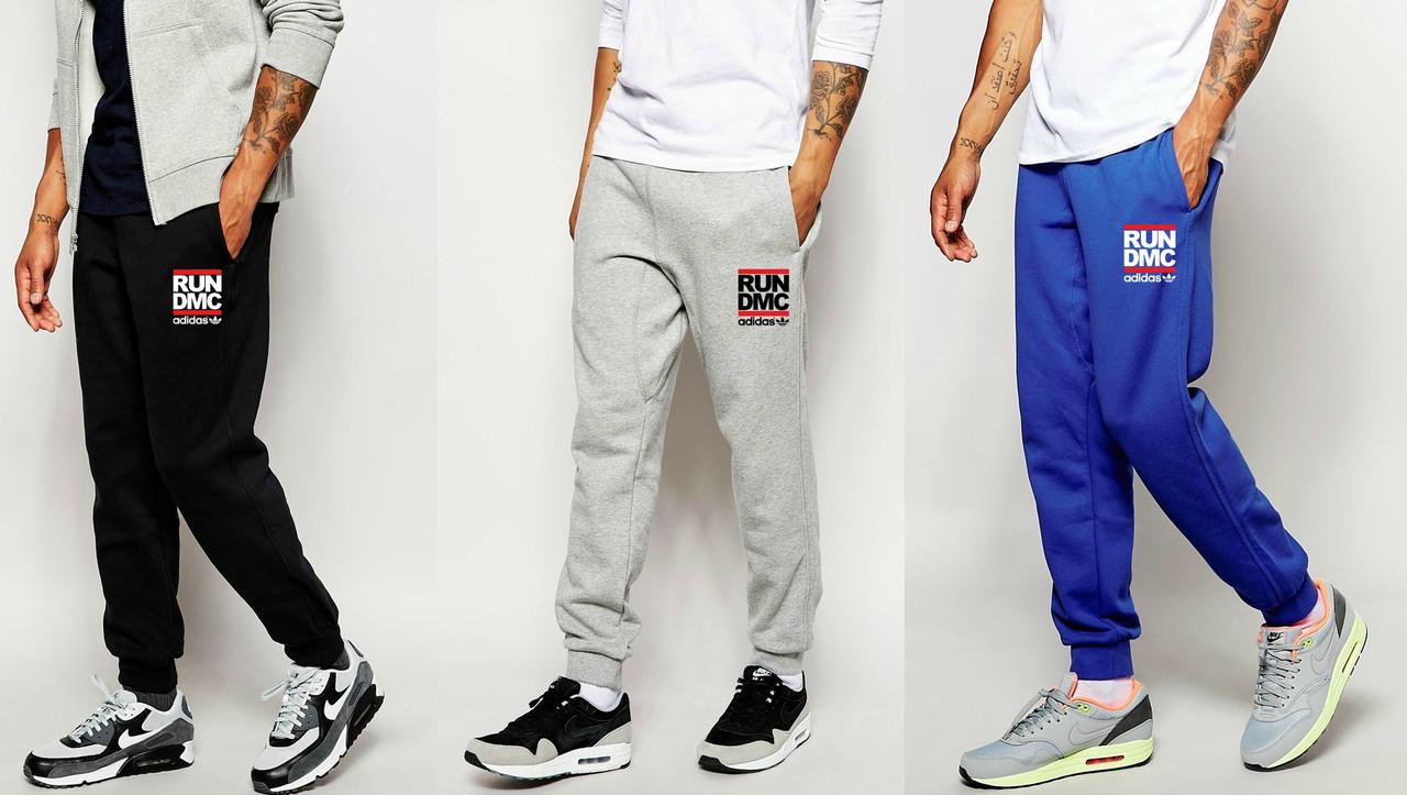 Мужские спортивные штаны Adidas Originals Run Dmc купить на ... b05ee046300