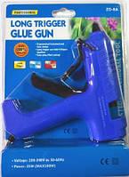 12-00-021. Пістолет клейовий 25W, під клей 11мм, Max100W, в блістері, ZD-8А