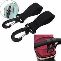 Крючки для крепления рюкзака на коляску., фото 1