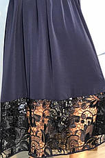 Красивое платье больших размеров Бегония, фото 3