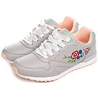 Жіночі кросівки Badox 36 Flowers Grey 7474-36, КОД: 1162878