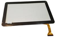 Сенсорный экран (тачскрин) для планшета 10,1 дюймов Assistant AP-110 (Model: DH-1007A1-FPC033) Black